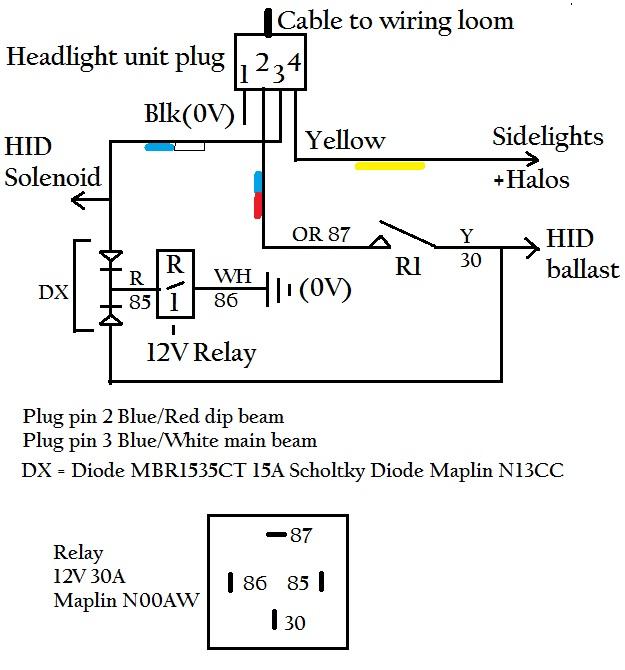Hid Diag on Halo Headlight Wiring Diagram